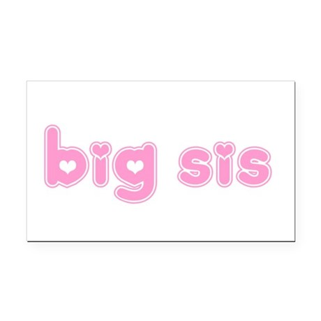 bigsis3a.png Rectangle Car Magnet