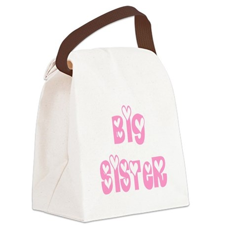bigsister.png Canvas Lunch Bag