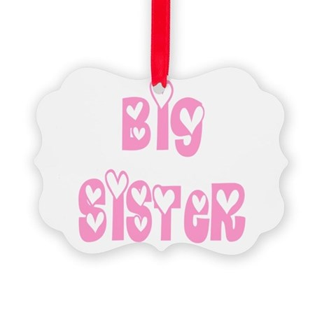 bigsister.png Picture Ornament