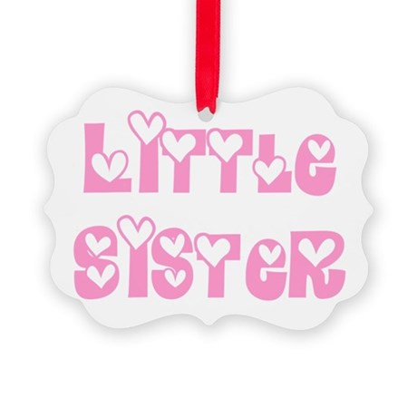 littlesister.png Picture Ornament