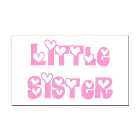 littlesister.png Rectangle Car Magnet