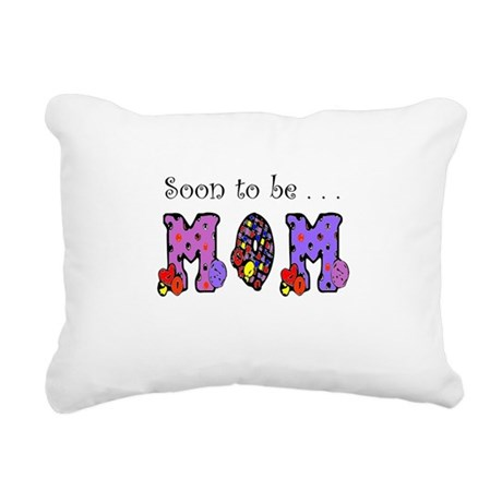 Soon to be MOM Rectangular Canvas Pillow