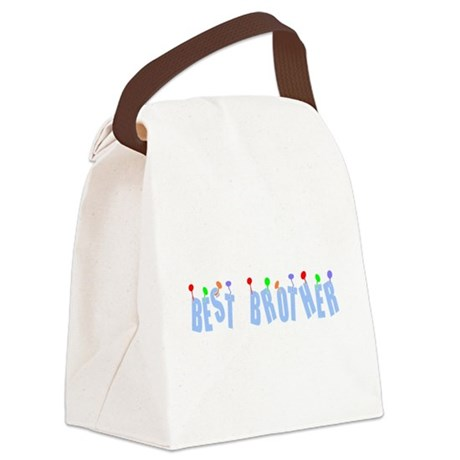bestbrother.png Canvas Lunch Bag