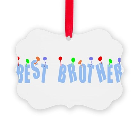 bestbrother.png Picture Ornament