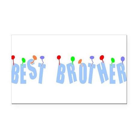 bestbrother.png Rectangle Car Magnet