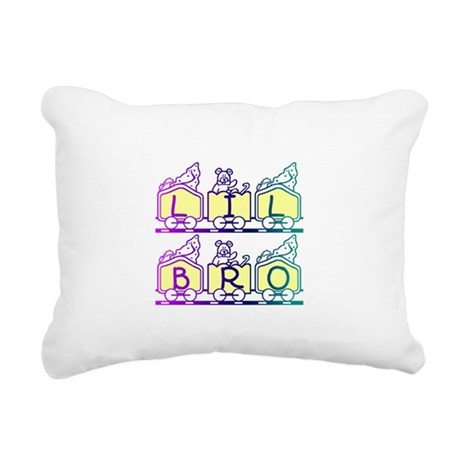 lilbro2a.JPG Rectangular Canvas Pillow
