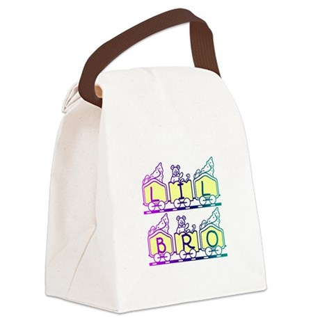 lilbro2a.JPG Canvas Lunch Bag