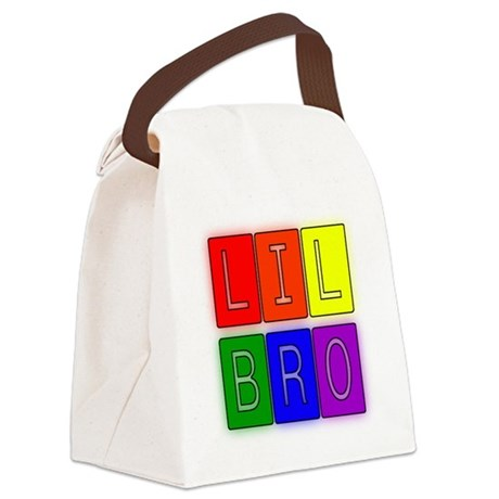 lilbro1.JPG Canvas Lunch Bag
