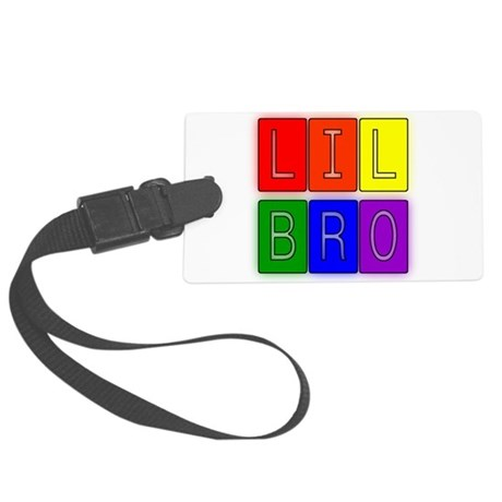 lilbro1.JPG Large Luggage Tag
