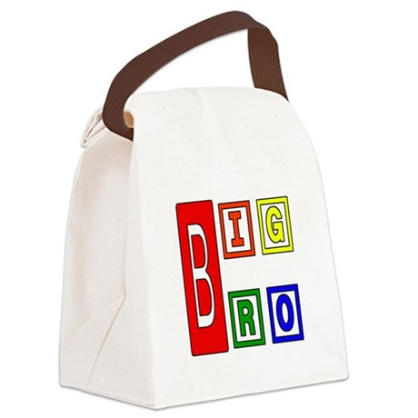 bigbro2.JPG Canvas Lunch Bag
