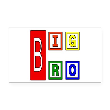 bigbro2.JPG Rectangle Car Magnet