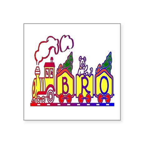 "bro2.JPG Square Sticker 3"" x 3"""