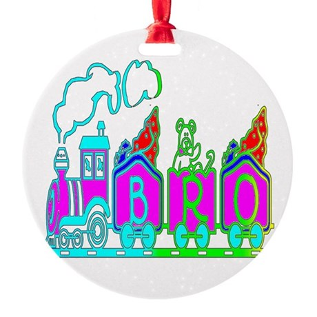 bro3.JPG Round Ornament