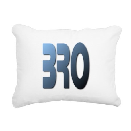 Bro Rectangular Canvas Pillow