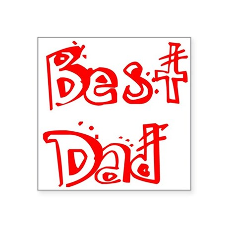 "best2c.png Square Sticker 3"" x 3"""