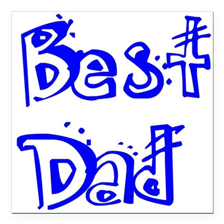 "best2b.png Square Car Magnet 3"" x 3"""