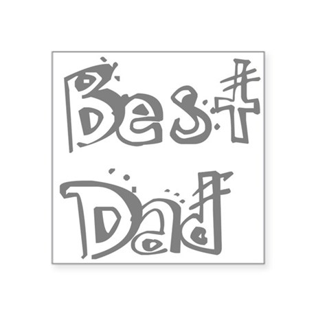 "best2f.png Square Sticker 3"" x 3"""