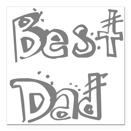 "best2f.png Square Car Magnet 3"" x 3"""