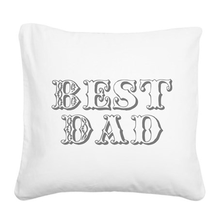 best3.png Square Canvas Pillow