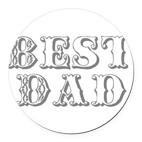 best3.png Round Car Magnet