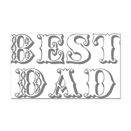 best3.png Rectangle Car Magnet