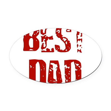 best4d.png Oval Car Magnet