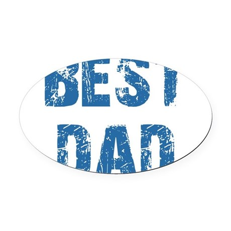 best5e.png Oval Car Magnet