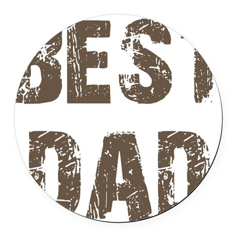 best5d.png Round Car Magnet