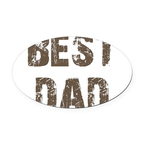 best5d.png Oval Car Magnet