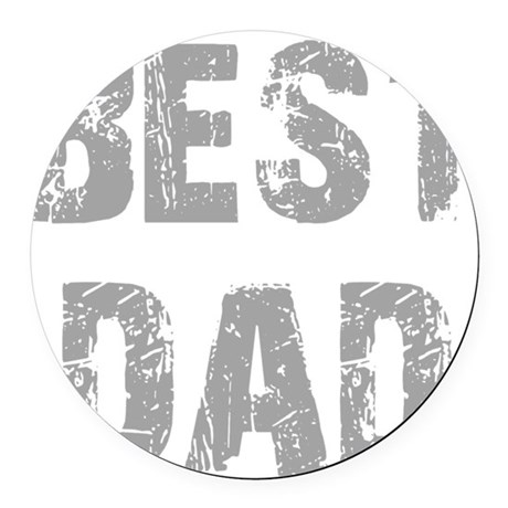 best5b.png Round Car Magnet