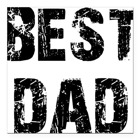 "best5.png Square Car Magnet 3"" x 3"""