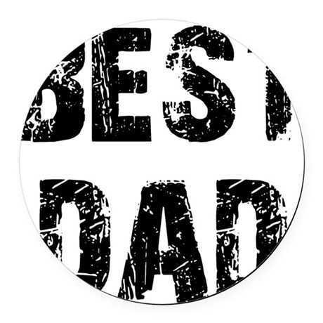 best5.png Round Car Magnet