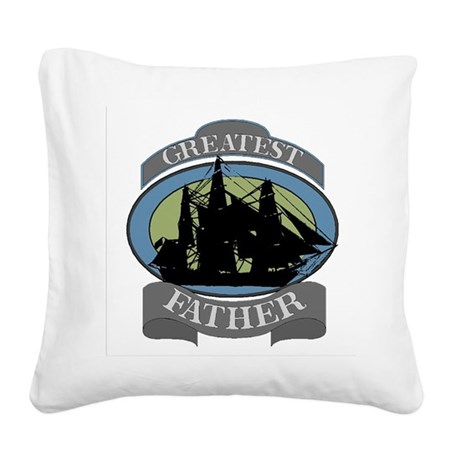 father.png Square Canvas Pillow