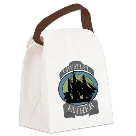 father.png Canvas Lunch Bag