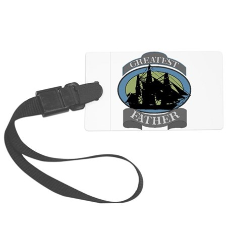 father.png Large Luggage Tag