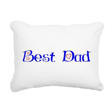 bestdad.png Rectangular Canvas Pillow