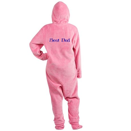 bestdad.png Footed Pajamas