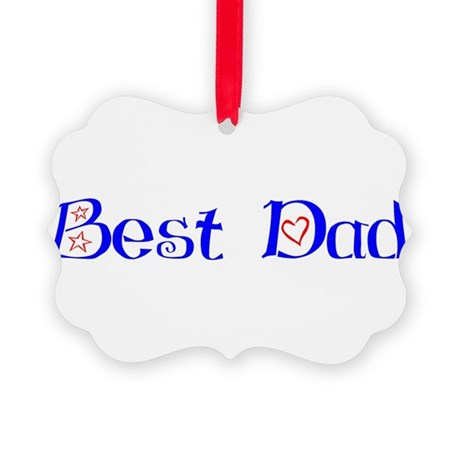 bestdad.png Picture Ornament