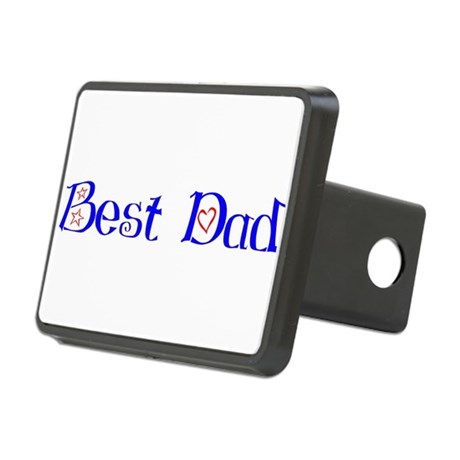bestdad.png Rectangular Hitch Cover