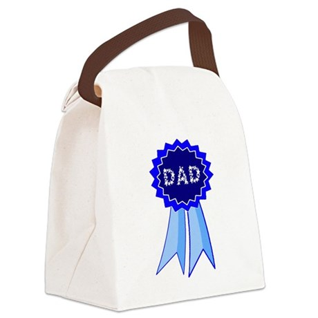 dadribbon.png Canvas Lunch Bag