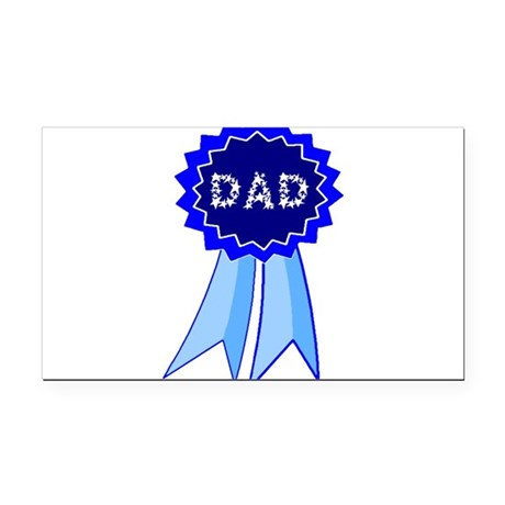 dadribbon.png Rectangle Car Magnet