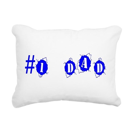 dad4a.png Rectangular Canvas Pillow