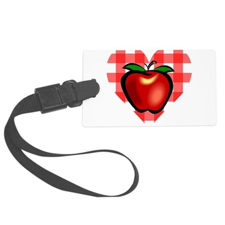 applechecks2.png Large Luggage Tag