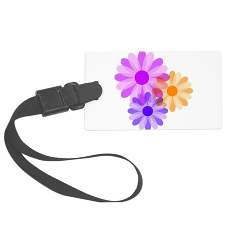 floral.png Large Luggage Tag