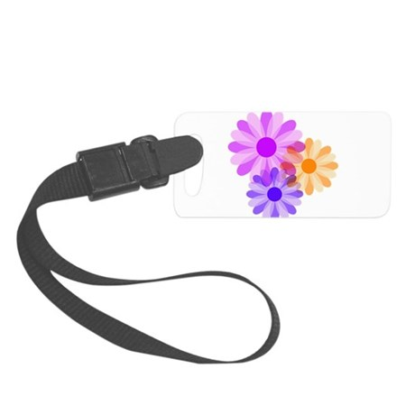 floral.png Small Luggage Tag