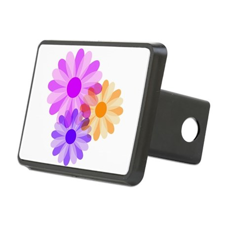 floral.png Rectangular Hitch Cover