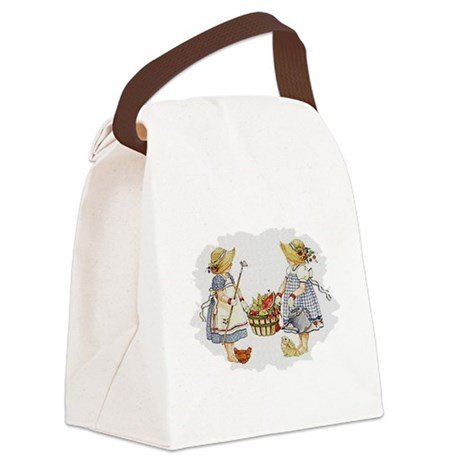 garden1.png Canvas Lunch Bag