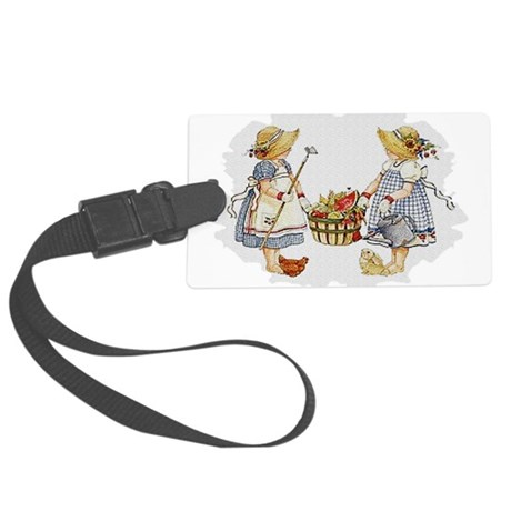 garden1.png Large Luggage Tag