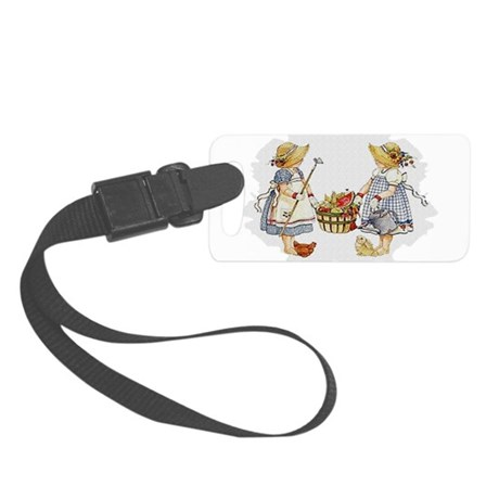 garden1.png Small Luggage Tag