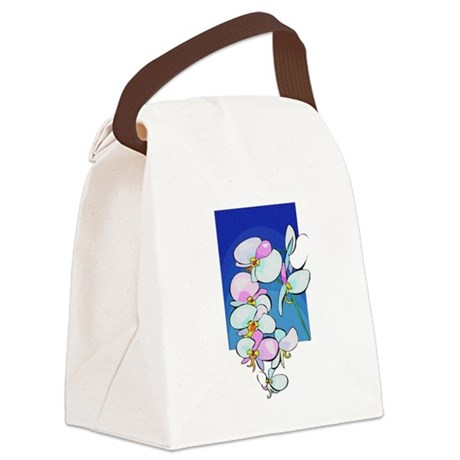 flowers.png Canvas Lunch Bag